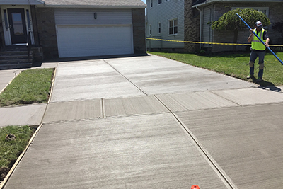 concrete driveway experts in syracuse ny